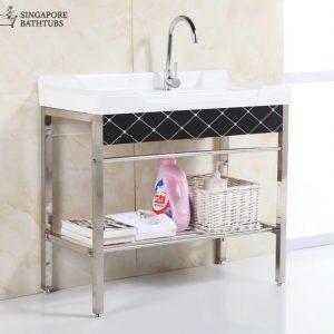 Lucerne Freestanding Kitchen Sink Singapore