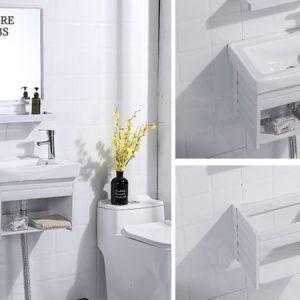 Positano Wall Hung Small Wash Basin Bathroom Accessories Singapore