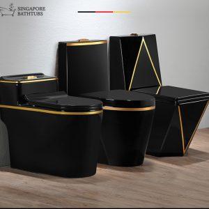 Brasilia Coloured Toilet Bowl Singapore SingaporeBathroomAccessories