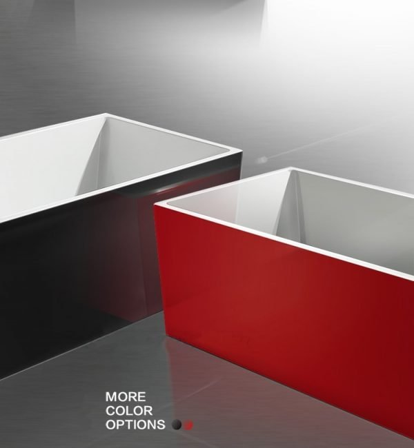 Beatrix Prestige Coloured Standalone Bathtub