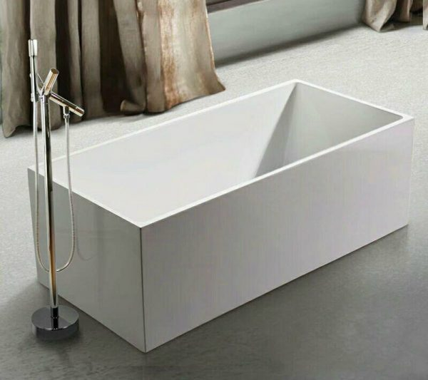 Beatrix Prestige White Standalone Bathtub