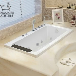 Macbeth Prestige Drop-in Built-in Bathtub Singapore
